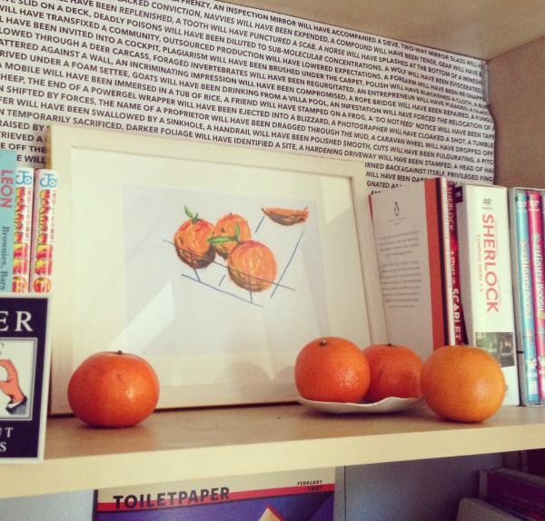 Oranges with oranges.